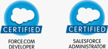 Salesforce certified developer / Salesforce certified administrator